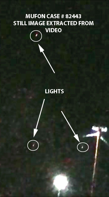 STILL IMAGE OF LIGHTS EXTRACTED FROM VIDEO.
